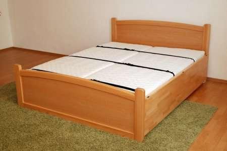 postel Klasik - vyklopená