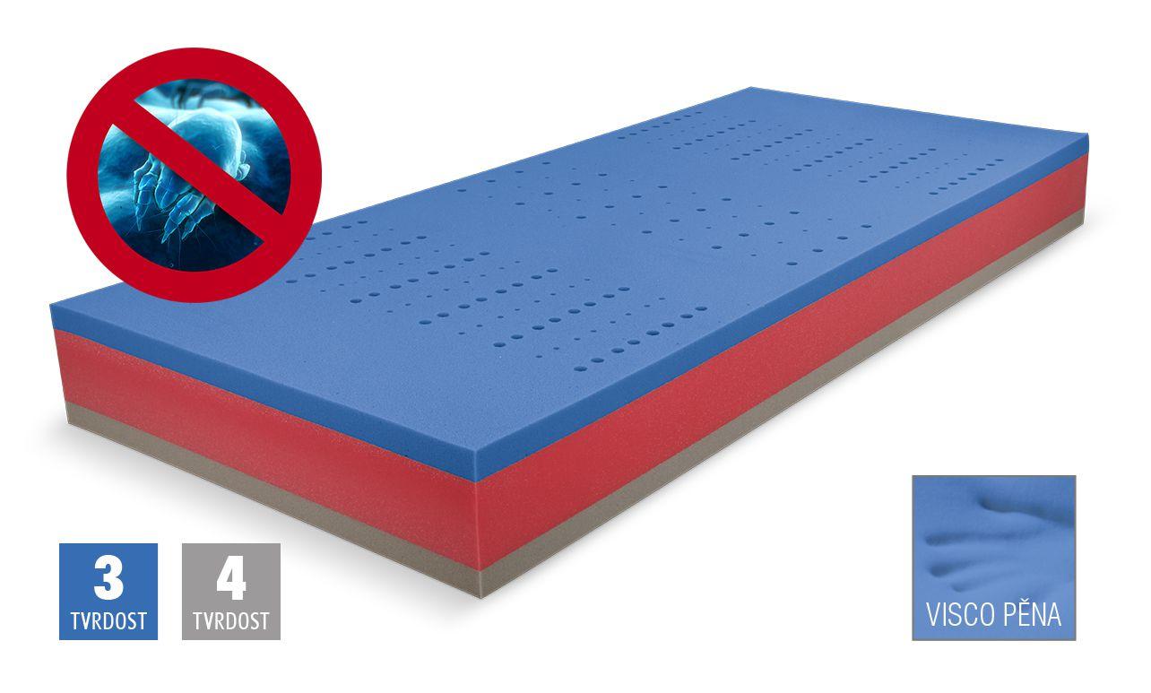 matrace BLUE MEDIC VISCO + dárek dle výběru D.P.V.