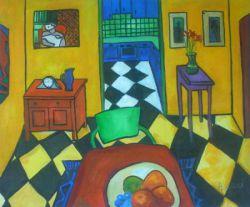 Obrazy ručně malované - moderní umění