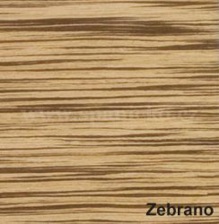 Zebrano (Novia)  - komoda EXCLUSIV M06