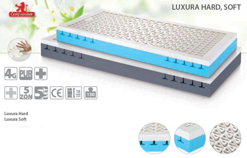 matrace LUXURA soft + dárek dle výběru LB Bohemia