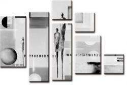 Černobílé obrazy - vícedílné