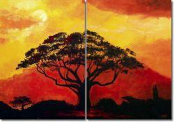 Obrazy stromů - vícedílné