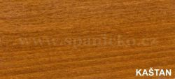 dpv - KAŠTAN  - noční stolek masiv, dýha