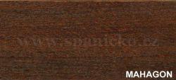 dpv - MAHAGON  - noční stolek masiv, dýha