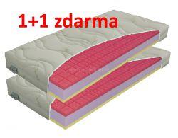 matrace ANTIBACTERIAL visco vakuo 24cm / 1+1 zdarma