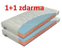 matrace ERGOFLEX  18 cm  / 1+1 zdarma