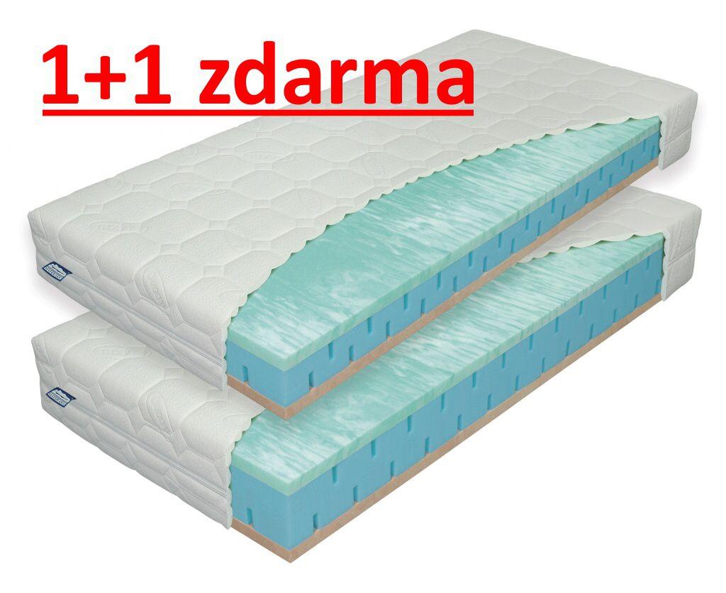 matrace PARTNER BIOGREEN 24cm / 1+1 ZDARMA / +dárek MATERASSO