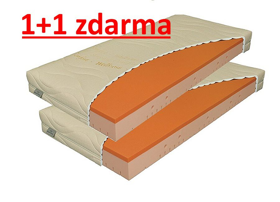 matrace VISCOSTAR 20cm / 1+1 zdarma MATERASSO