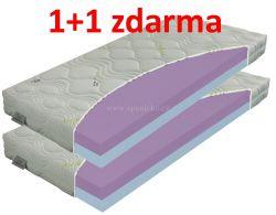 matrace ZDENĚK 24cm / 1+1 zdarma