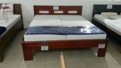 postel TAMIKA 180x200cm - buk  /// výprodej z expozice