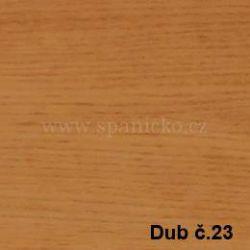 BMB - DUB č.23  - postel MARIKA s čelním výklopným lamelovým roštem