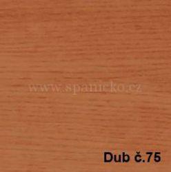 BMB - DUB č.75  - postel MARIKA s čelním výklopným lamelovým roštem
