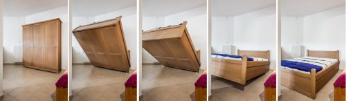Sklápěcí postel KLASIK