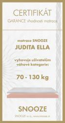 matrace JUDITA ELLA + dárek SNOOZE