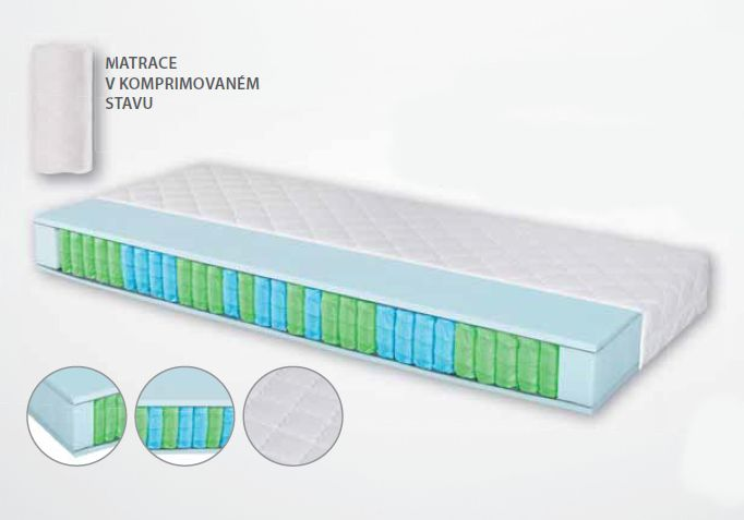 matrace PEARL soft + dárek dle výběru LB Bohemia