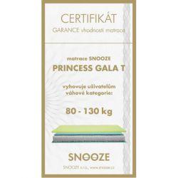 matrace PRINCESS GALA + dárek SNOOZE