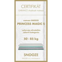 matrace PRINCESS MAGIC + dárek SNOOZE