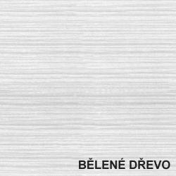 BMB - lamino - BĚLENÉ DŘEVO  - postel ALVA - rovné rohy