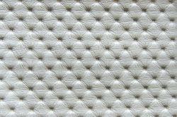 ECL  - koženka K2 sv. stříbrná  - postel NEVE s čalouněnými polštáři včetně nočních stolků
