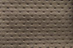 ECL  - koženka K4 zlatá  - postel NEVE s čalouněnými polštáři včetně nočních stolků