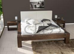 postel SONNO s čalouněným čelem