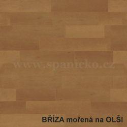 BMB - BŘÍZA - moření olše  - postel MARIKA s čelním výklopným lamelovým roštem