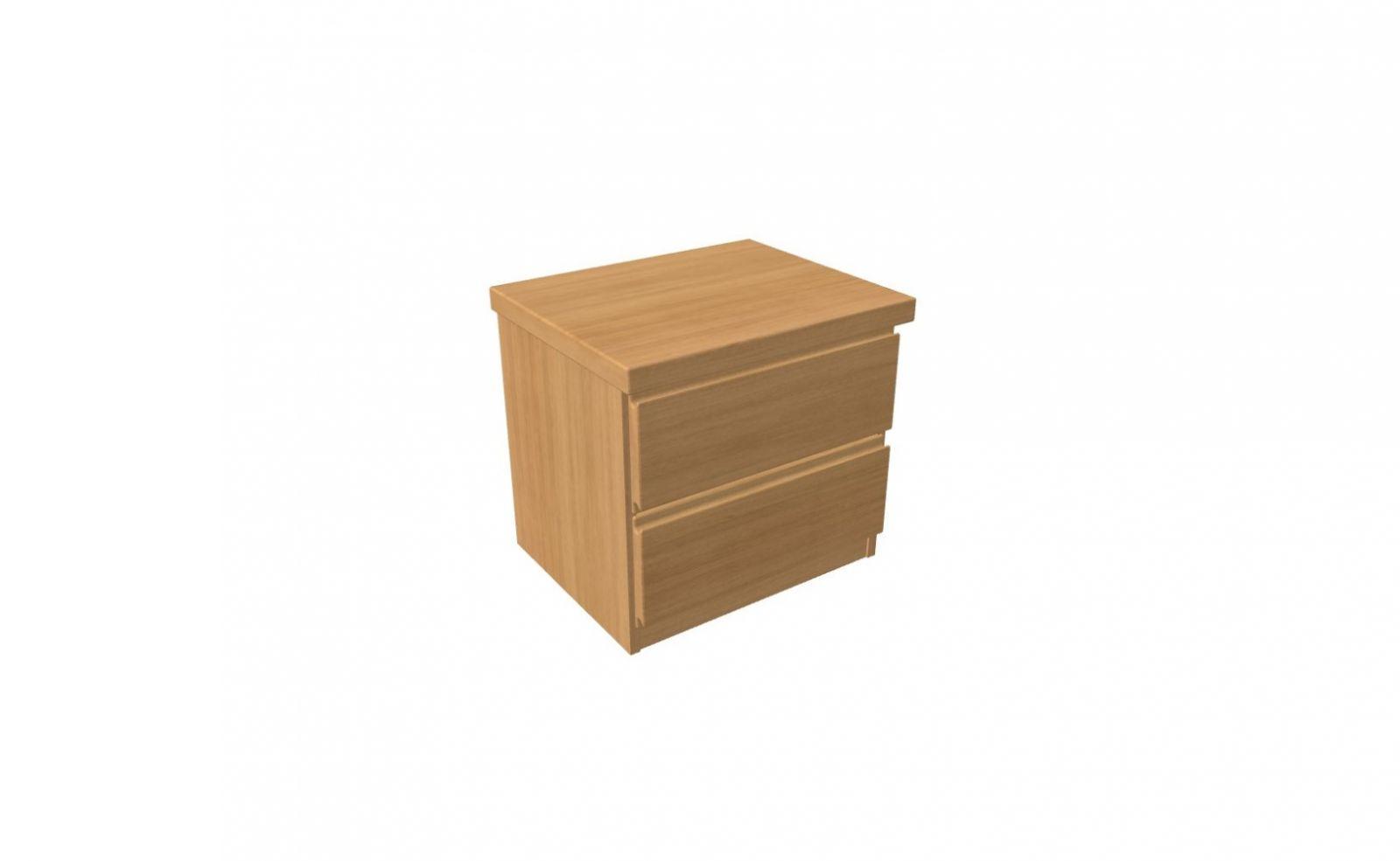 Noční stolek/komoda DALILA LUX Y1 Z2- 2 zásuvky malé JELÍNEK