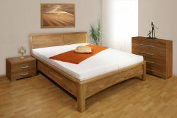 postel CAROLINA  č.1 - čelo z masivu
