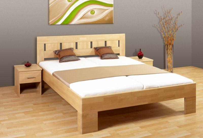 postel LEONA L1 - výška horní hrany postranice 45cm MIREAL