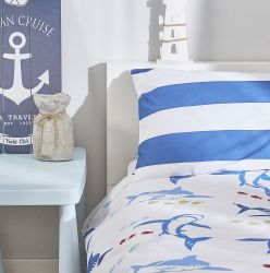 povlečení SEAWORLD BEDDING SET blue DORMEO