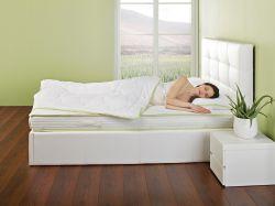 matrace Aloe Vera + vyhřívaná deka Warm Hug zdarma DORMEO