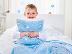 Dětská sada Warm Hug - modrá