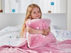 Dětská sada Warm Hug - růžová