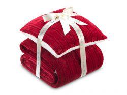 Hřejivá sada Warm Hug V3 - červená