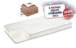 matrace Aloe Vera + vyhřívaná deka Warm Hug zdarma