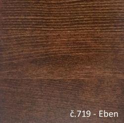 Moření č. 719 - Eben  - postel VIVI