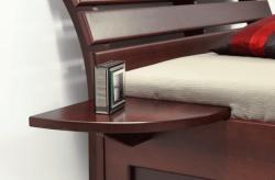 noční stolek AMADEUS   40x40cm / buk, 40x40cm / jasan, 40x40cm / okoume , 40x40cm / dub