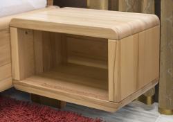 Noční stolek ANGELA bez zásuvky | š.50 x v.30 x hl.36cm / BUK masiv , š.50 x v.30 x hl.36cm / jádrový BUK masiv