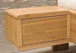 Noční stolek ANGELA  | š.50 x v.30 x hl.36cm / BUK masiv , š.50 x v.30 x hl.36cm / jádrový BUK masiv