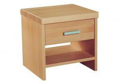 Noční stolek PETRA | š.40 x hl.36cm / BUK masiv , š.40 x hl.36cm / BUK masiv + dýha, š.40 x hl.36cm / DUB masiv , š.50 x hl.36cm / BUK masiv , š.50 x hl.36cm / BUK masiv + dýha, š.50 x hl.36cm / DUB masiv