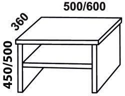 Noční stolek ROMANA FMP