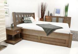 KIRA postel s úložným prostorem