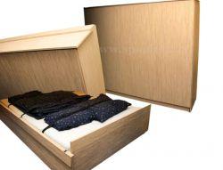 KLASIK sklopná lamino postel s vyklápěním z boku