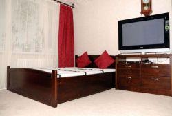 Obývací stěna s postelí KLASIK v buku