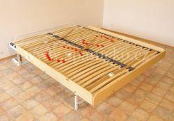 sklopná postel SKL 2 VKPT bez skříně - dvoulůžko