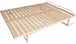 sklopná postel SKL 2 VR bez skříně - dvoulůžko
