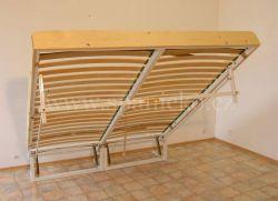 sklopná postel SKL 2 VN bez skříně - dvoulůžko