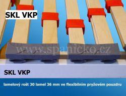 sklopná postel SKL 2 VKP vč. skříně - dvoulůžko Sklápěcí postele