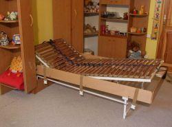sklopná postel SKL 1 VKPP vč. skříně - jednolůžko